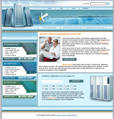 Reseller Hosting Templates Our Reseller Templates Are